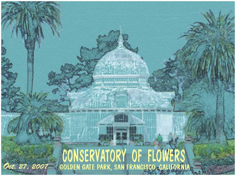 photo gallery : Golden Gate Park : Conservatory of Flowers